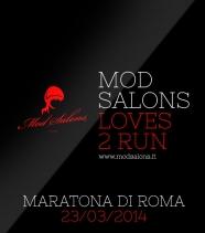 Mod Salons <br/> loves 2 run